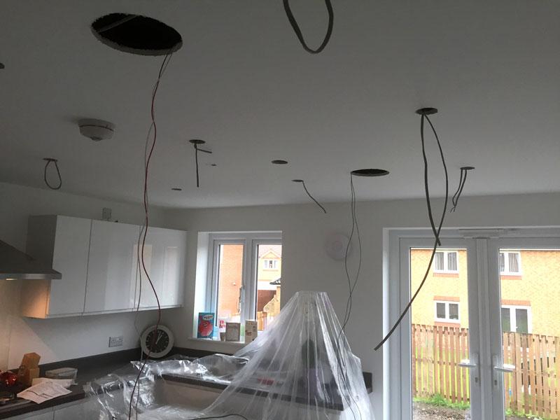 Bishopbriggs kitchen wiring