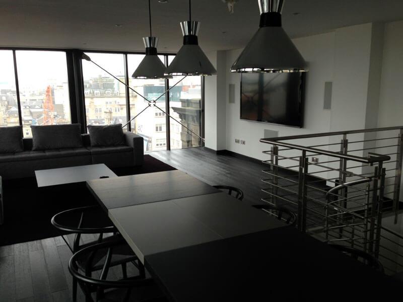 Glasgow penthouse AV install