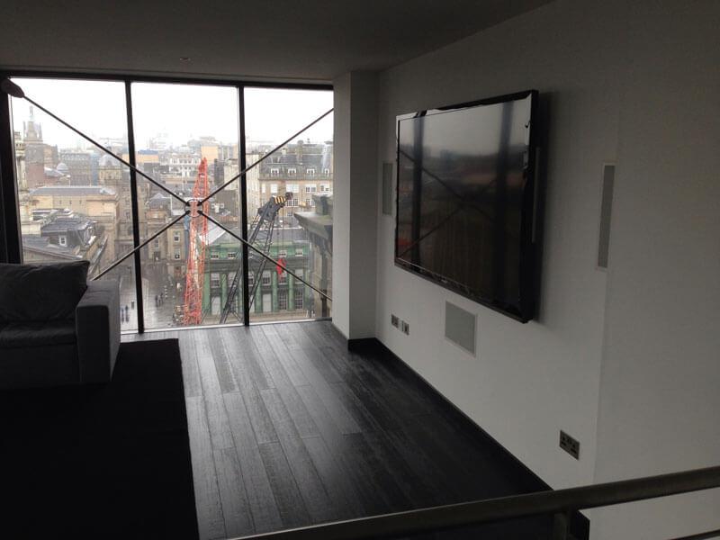 Glasgow penthouse