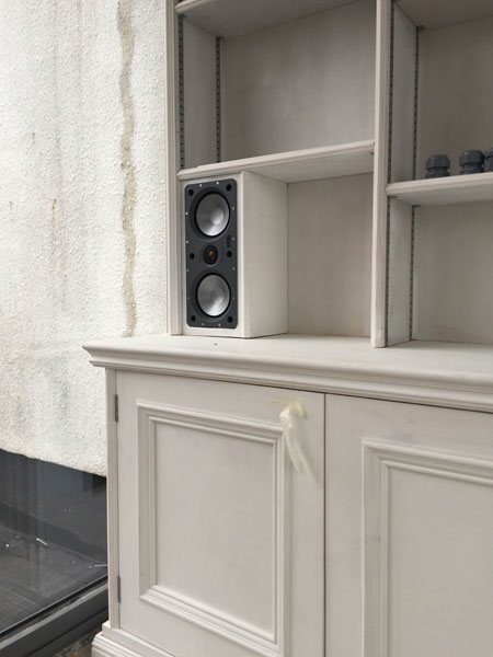 Glasgow west end custom install speaker
