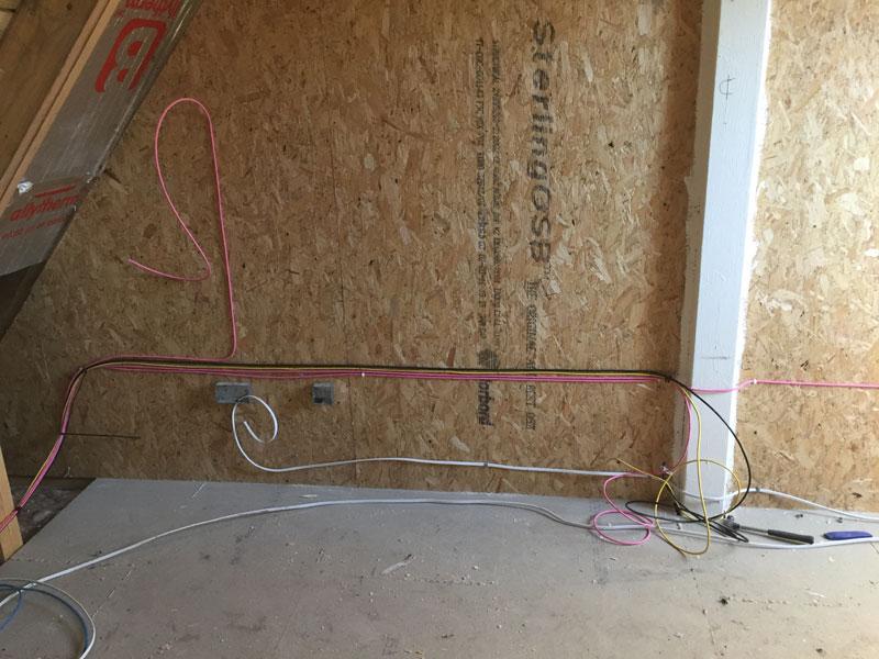 Gleneagles custom AV cabling