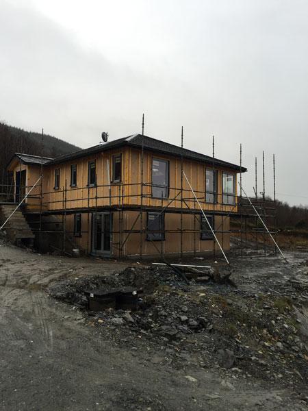 new build custom install house
