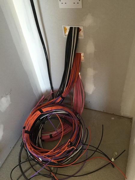 Strachur av cabling