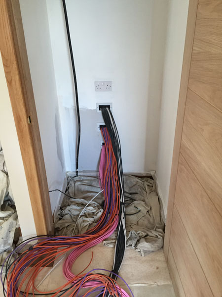 Strachur custom cable installation