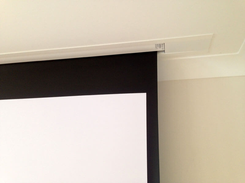 Home cinema install - Cinema screen install Glasgow