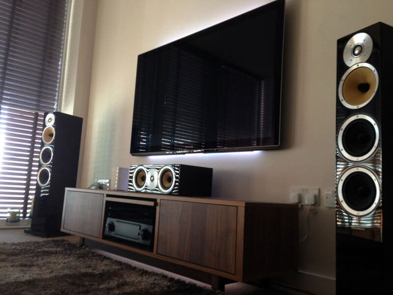 Home cinema install Glasgow harbour - AV installation