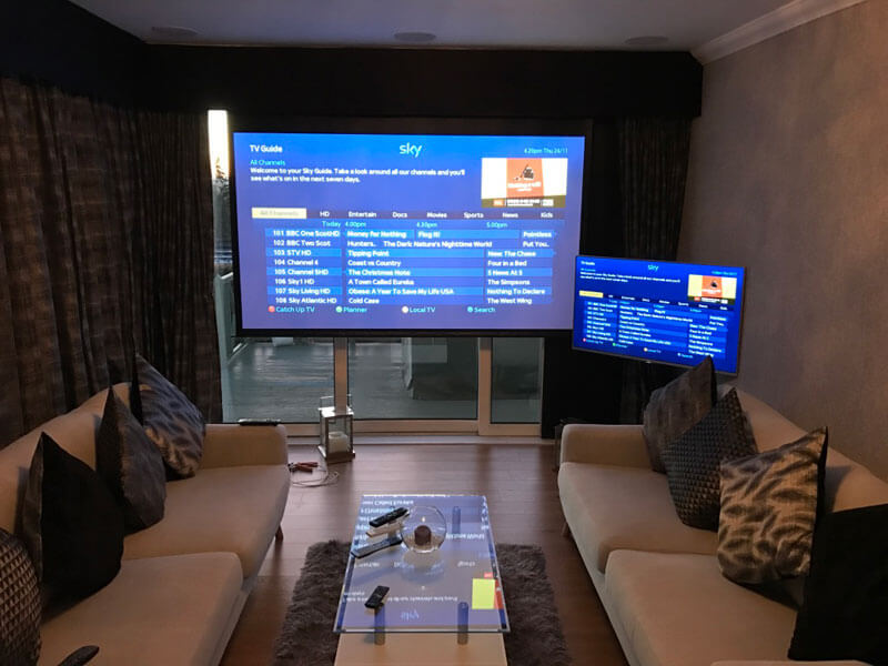 Home cinema install - Lanark cinema room