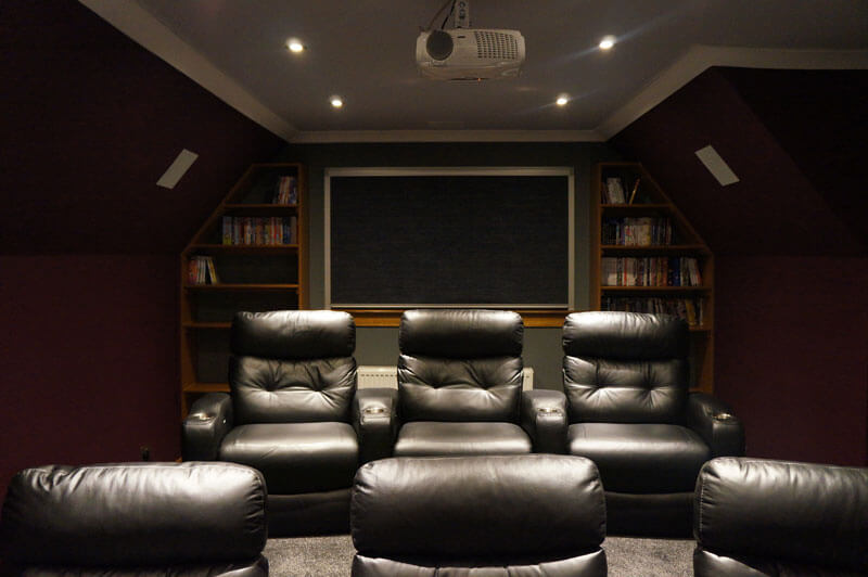 Home cinema install Lanarkshire cinema room