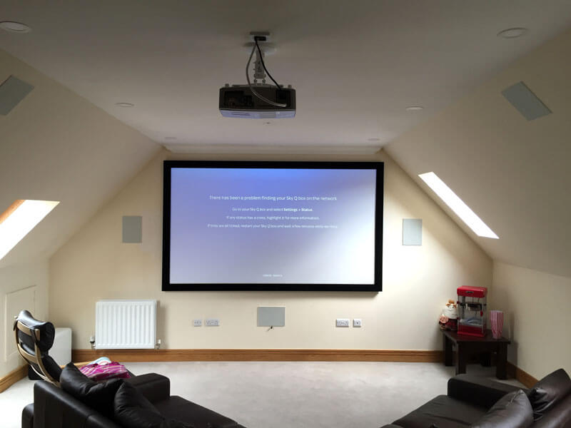 home cinema install - Milngavie home cinema install