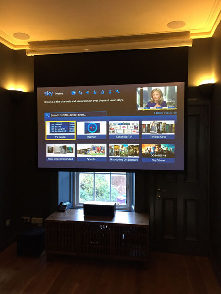 Home cinema install - Shawlands cinema room