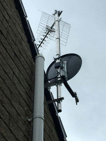 cctv irs service troon tv satellite installation