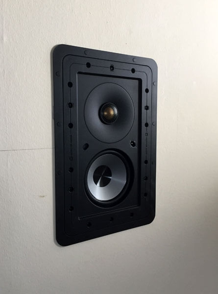 multi room in wall speaker option