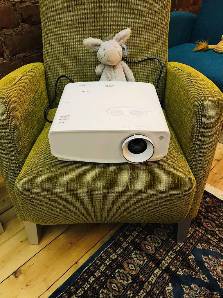 4k projector install