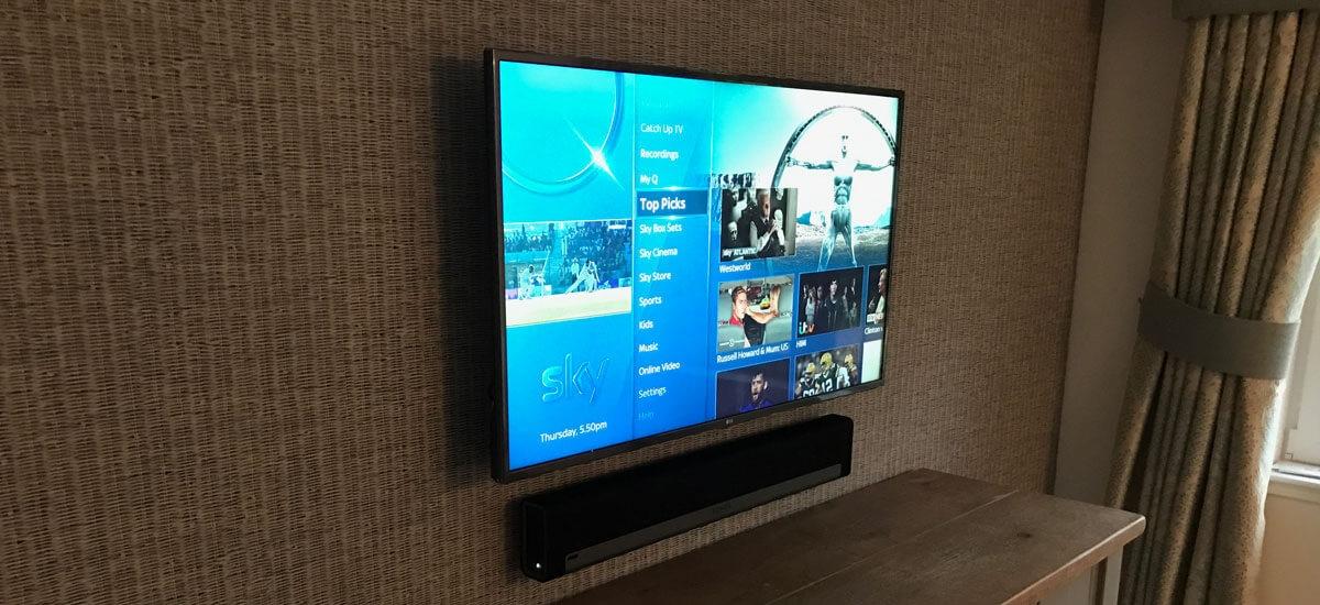 Surround sound install & TV with Sonos installed - Clarkston ...