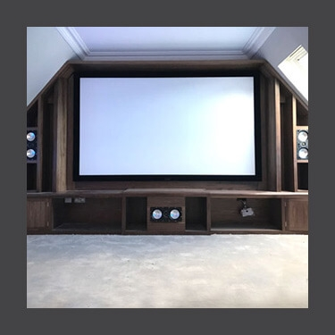 Home cinema installations from Custom Install Glasgow