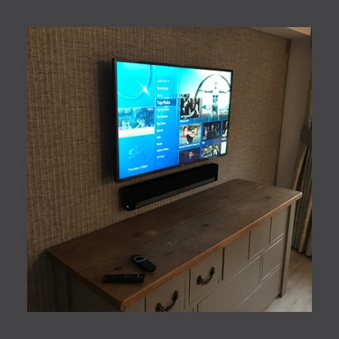 TV wall mounts install box